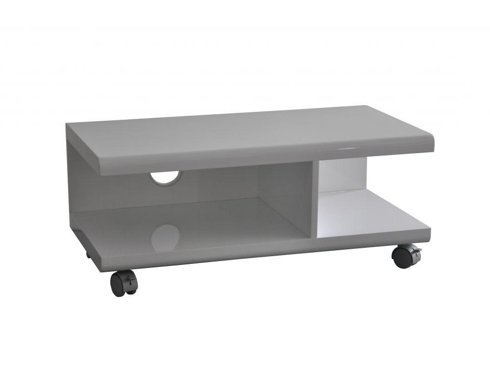frg indoor tv wagen bangor weiss kaufen. Black Bedroom Furniture Sets. Home Design Ideas