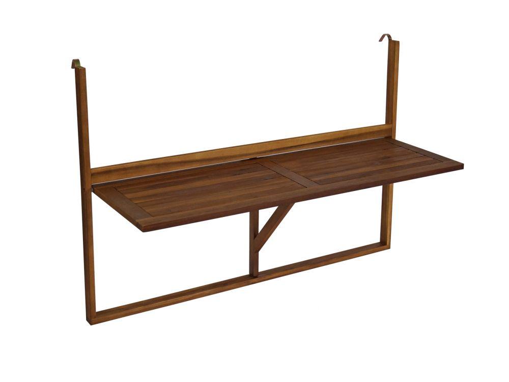 frg balkonh ngetisch in langer ausf hrung 120cm akazie kaufen. Black Bedroom Furniture Sets. Home Design Ideas