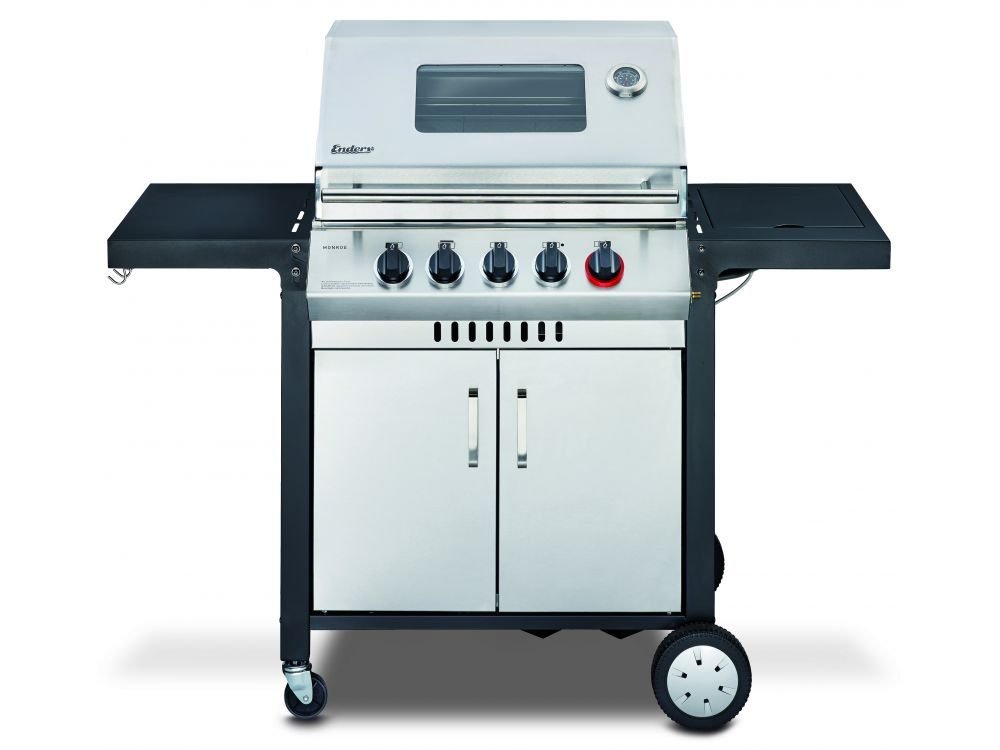 Enders Gasgrill Vergleich : Bilder videos enders gasgrill boston black k bild