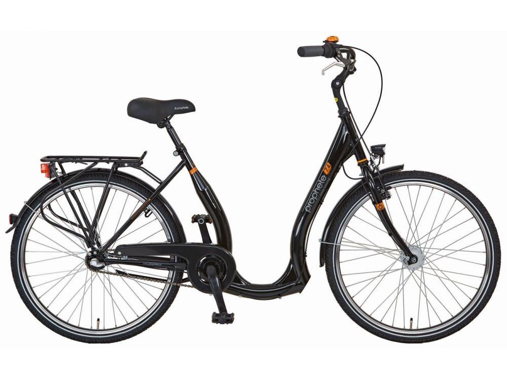 fahrrad tiefeinsteiger 26 zoll geniesser 7 4 glanzschwarz kaufen. Black Bedroom Furniture Sets. Home Design Ideas