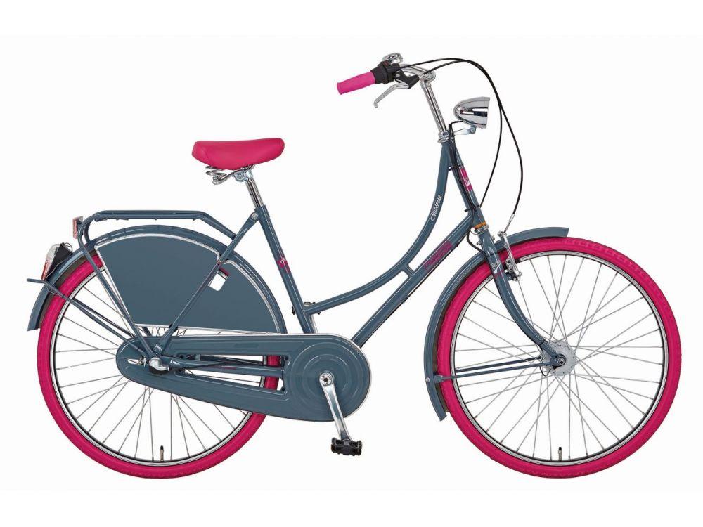 fahrrad nostalgie 26 zoll noblesse grau kaufen. Black Bedroom Furniture Sets. Home Design Ideas
