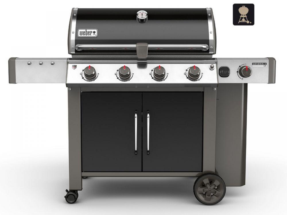 Outdoor Küche Mit Weber Spirit : Weber genesis ii lx e gbs black kaufen