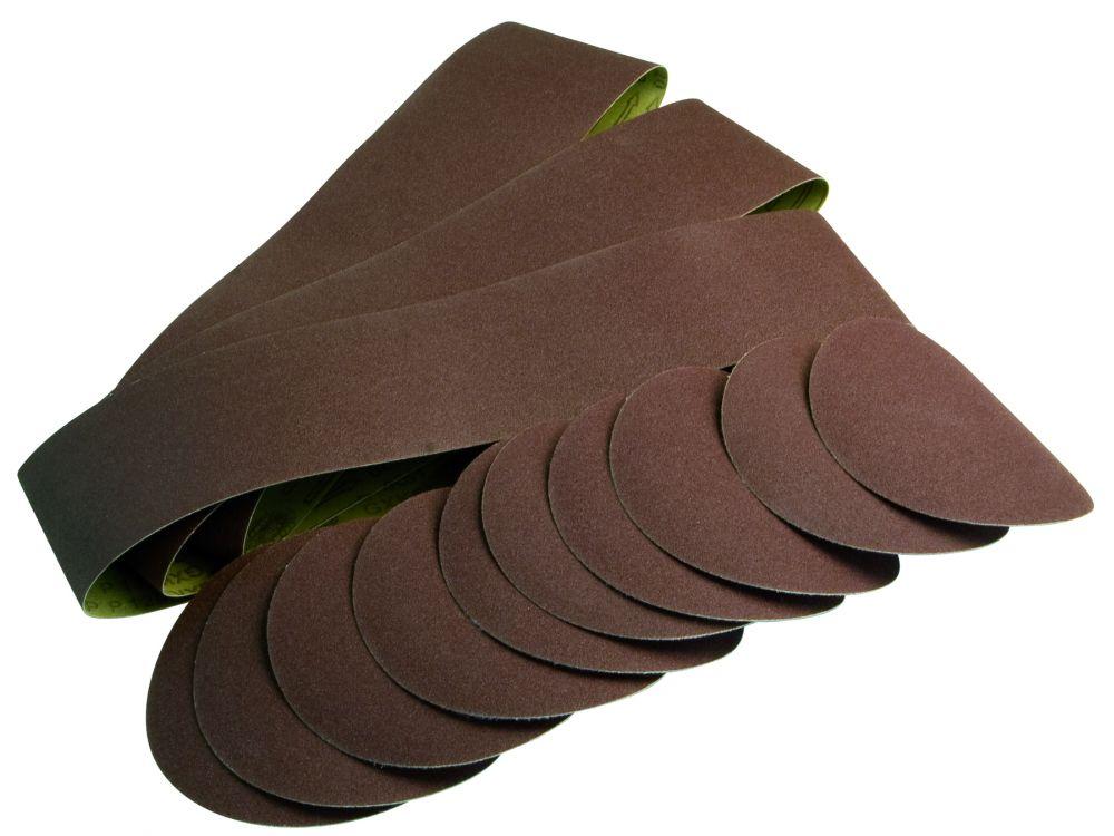 scheppach schleifb nder schleifpapier satz 12 teilig. Black Bedroom Furniture Sets. Home Design Ideas
