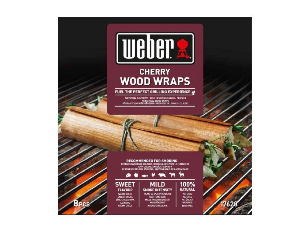 Weber Elektrogrill Bratwurst : Weber wood wraps aus kirschholz kaufen