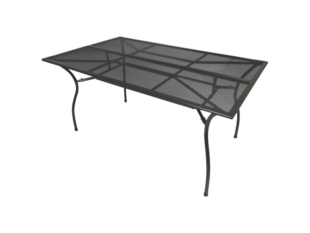 frg gartentisch streckmetall 90x150cm rechteckig kaufen. Black Bedroom Furniture Sets. Home Design Ideas
