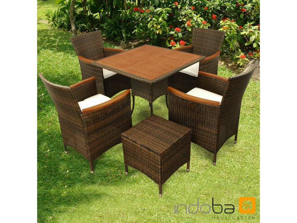 gartenm bel set 6teilig valencia kaufen. Black Bedroom Furniture Sets. Home Design Ideas