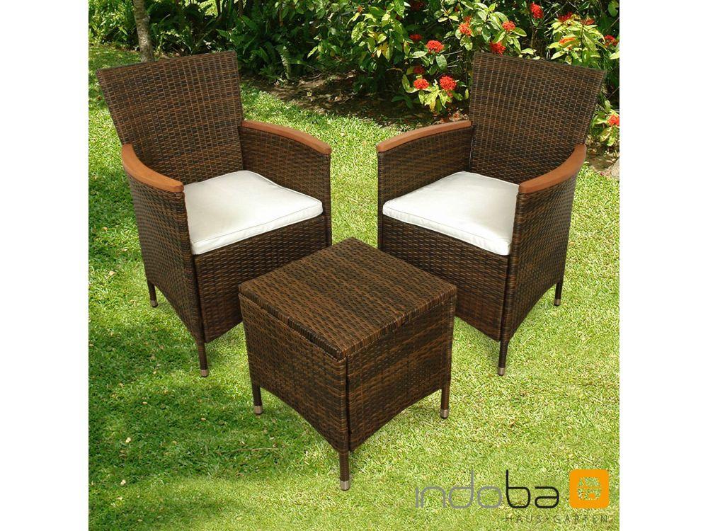 gartenm bel set 3teilig valencia kaufen. Black Bedroom Furniture Sets. Home Design Ideas