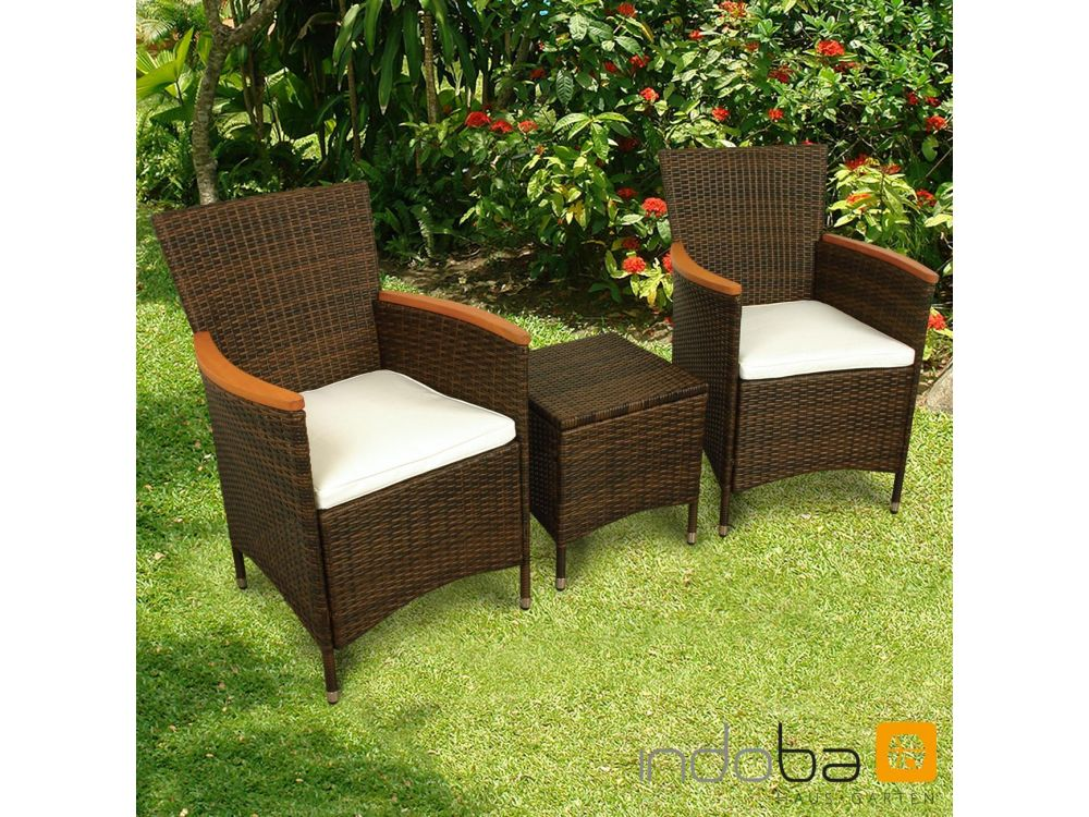 gartenm bel set 3teilig valencia kaufen. Black Bedroom Furniture Sets. Home Design Ideas