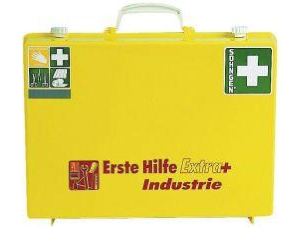 Söhngen 0361108 Erste-Hilfe-Koffer EXTRA + Industrie DIN 13157 Erweiterungen Leucht-Gelb jetztbilligerkaufen