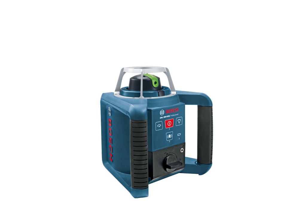 Bosch Laser Entfernungsmesser Grün Oder Blau : Bosch rotationslaser grl hvg grün kaufen