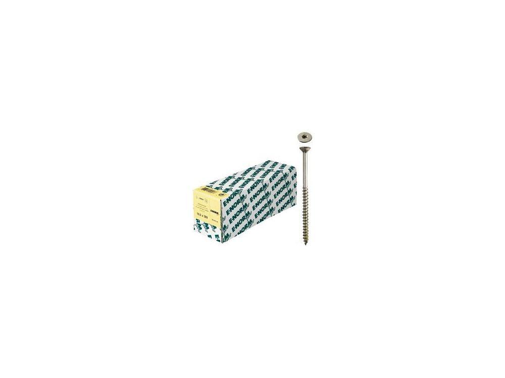 Holzbauschrauben Teilgewinde gelb E-NORMpro Abmessung:8 x 80mm
