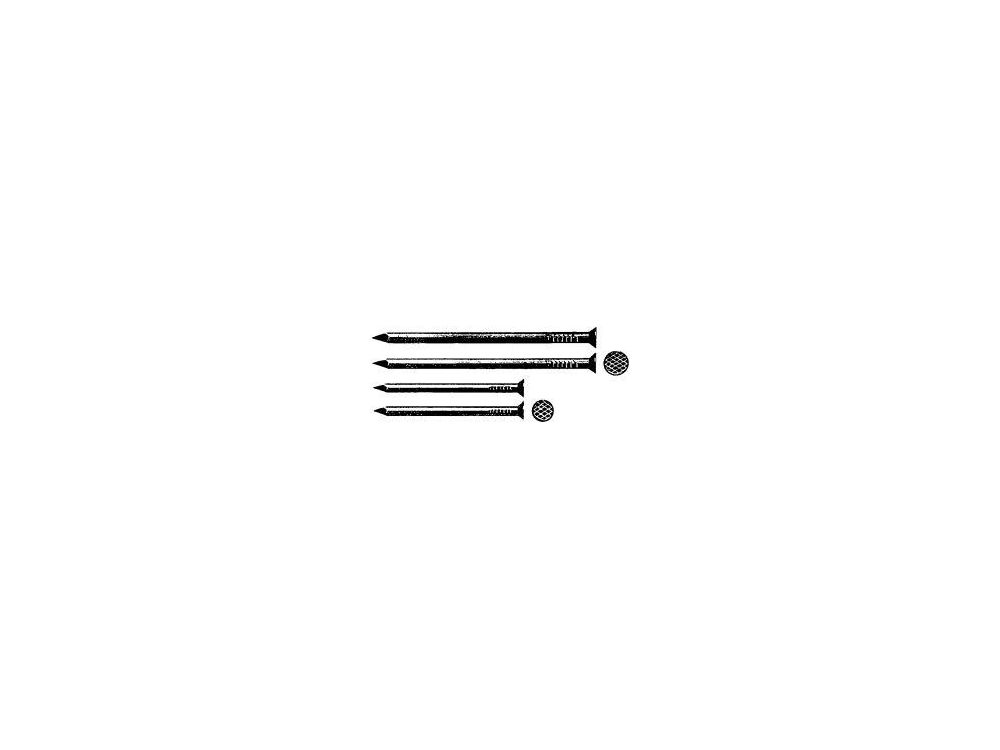 Stahl feuerverzinkt. 5kg DIN 1151 Drahtstifte Senkkopf 6 x 180