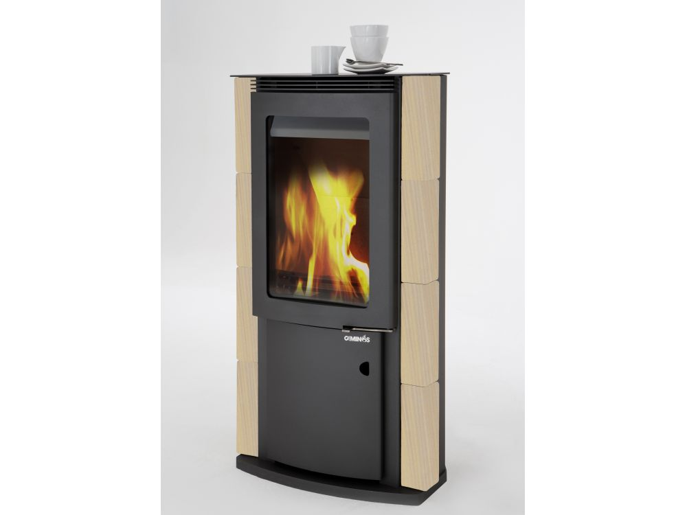 caminos keramik kaminofen sekundus sekundarluftautomatik. Black Bedroom Furniture Sets. Home Design Ideas