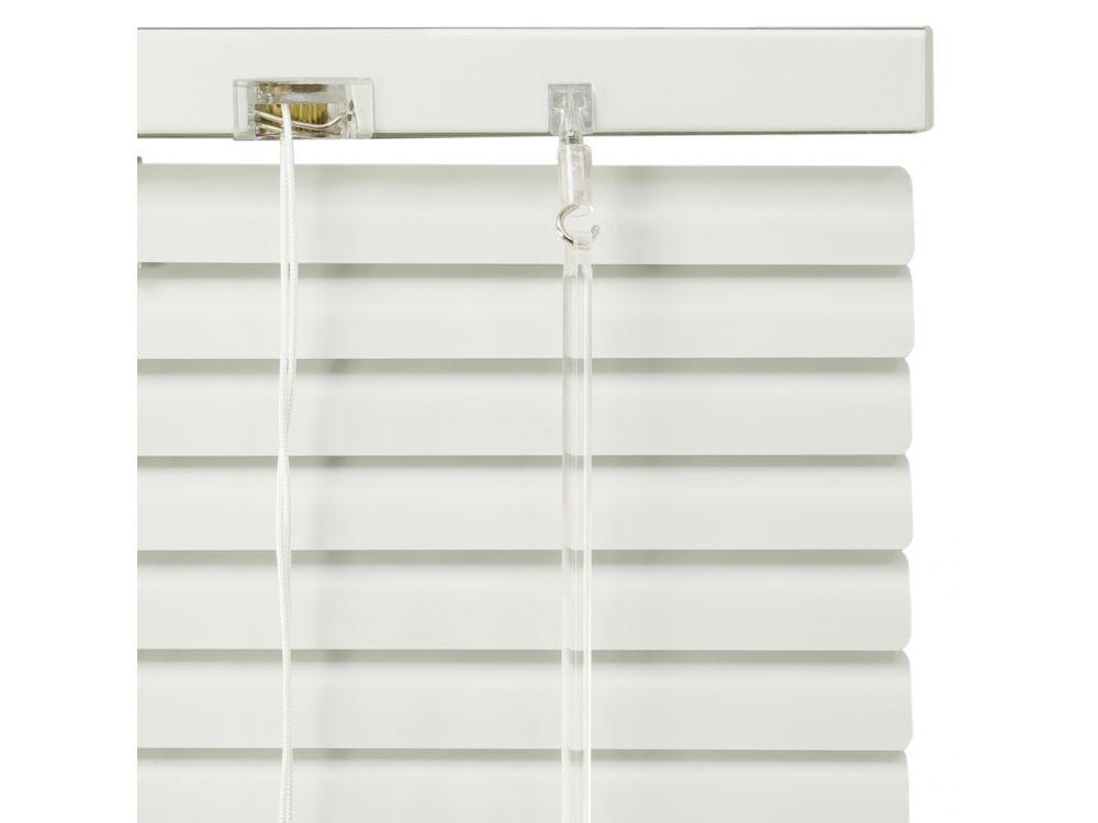 jalousie f r t ren 220 cm l nge aluminium jalousie farbe wei breite 40 cm ebay. Black Bedroom Furniture Sets. Home Design Ideas