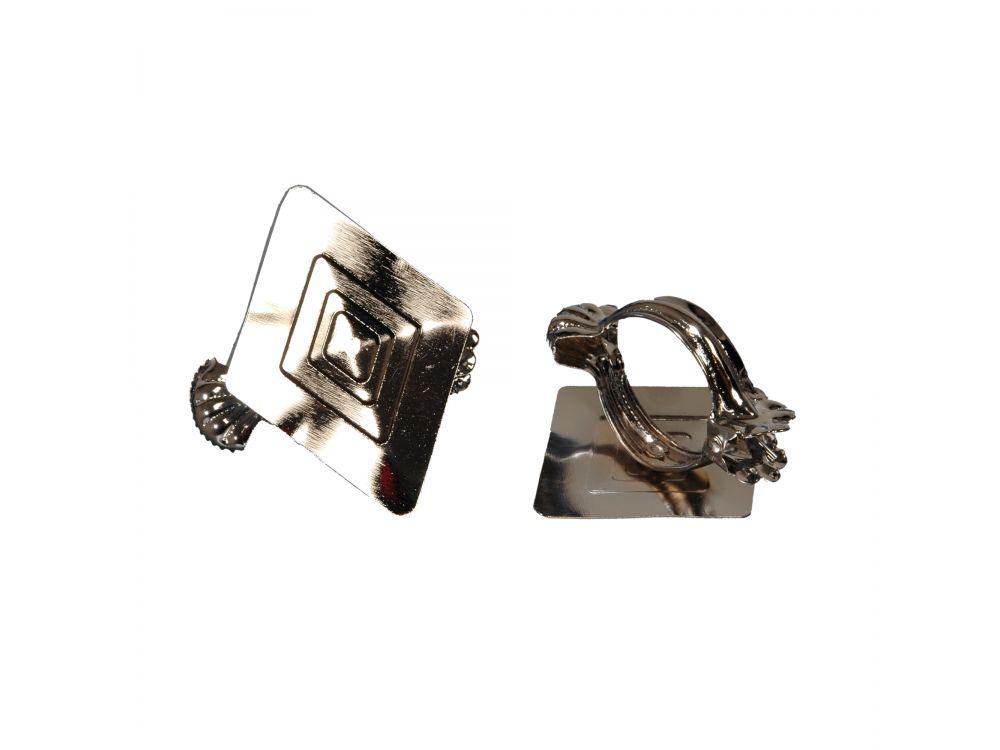liedeco donauklammern motiv rombus f r gardinenstangen kaufen. Black Bedroom Furniture Sets. Home Design Ideas