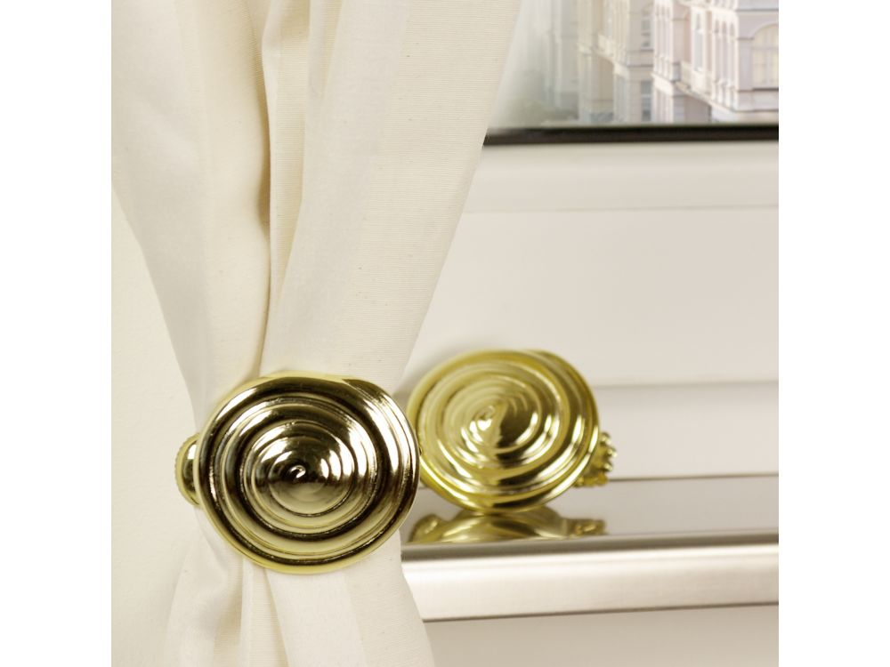 liedeco donauklammern motiv schnecke f r gardinenstangen kaufen. Black Bedroom Furniture Sets. Home Design Ideas