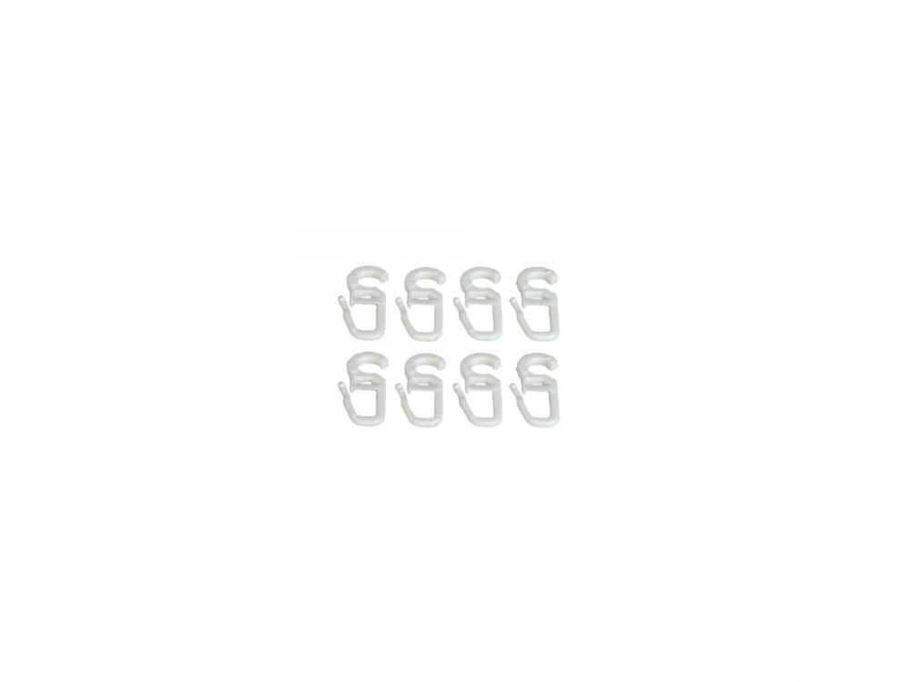liedeco faltenlegehaken f r gardinenringe f r 16 mm ringe wei kaufen. Black Bedroom Furniture Sets. Home Design Ideas