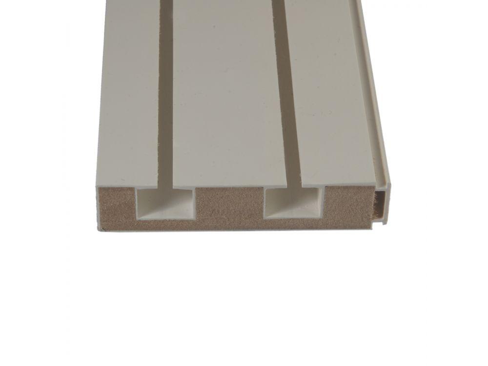 liedeco vorhangschiene mit holzkern gardinenschiene 2. Black Bedroom Furniture Sets. Home Design Ideas
