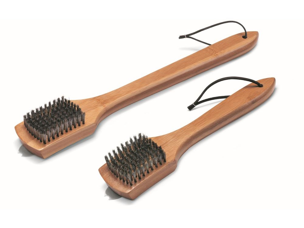 Weber Grillbürste Für Holzkohlegrill : Weber grillbürste mit bambus holzgriff für holzkohlegrills cm