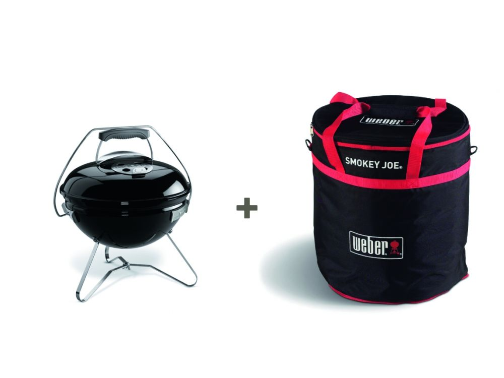 Weber Holzkohlegrill Smokey Joe Premium : Weber smokey joe premium 37cm black inkl. tragetasche kaufen