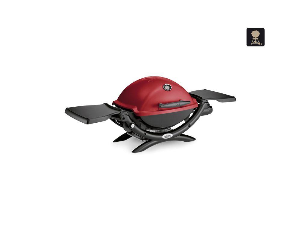 Weber Elektrogrill Maroon : Weber q colorline mit deckelthermometer maroon kaufen