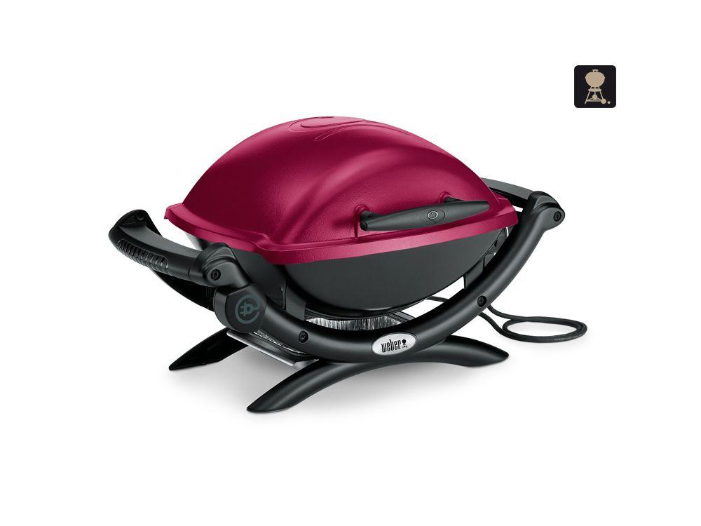 weber elektrogrill q 1400 maroon kaufen. Black Bedroom Furniture Sets. Home Design Ideas