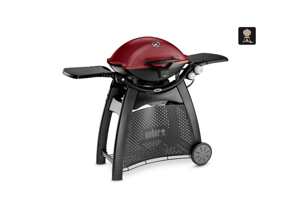 Weber Elektrogrill Maroon : Weber q 3200 gasgrill maroon kaufen