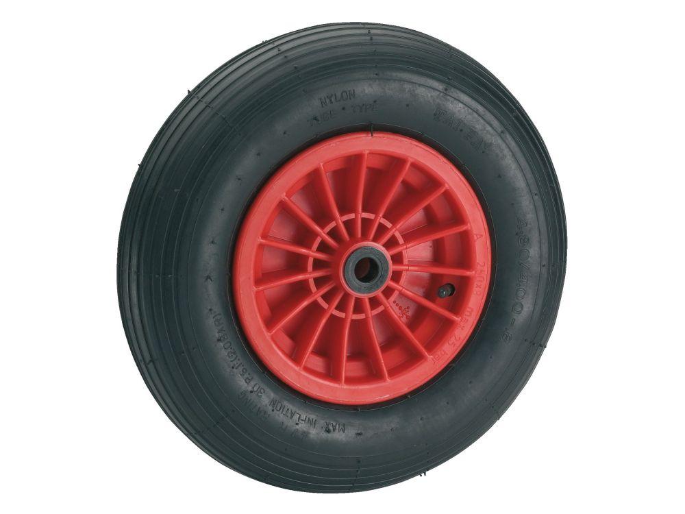 Luftrad Durchmesser:400mm Felge:Kunststoff Ausführung:Gleitlager