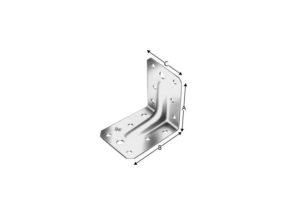 Winkelverbinder Simpson Ausführung:ohne Rippe Maße:103x103x90mm bei Handwerker-Versand.de