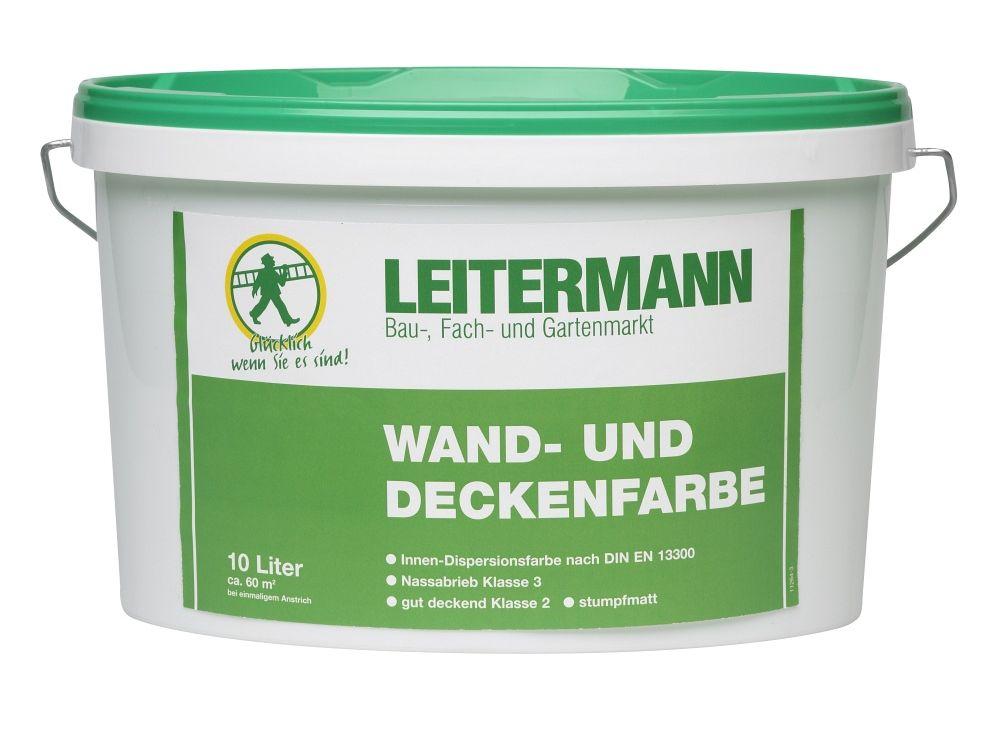 Leitermann Wand und Deckenfarbe Inhalt:2l