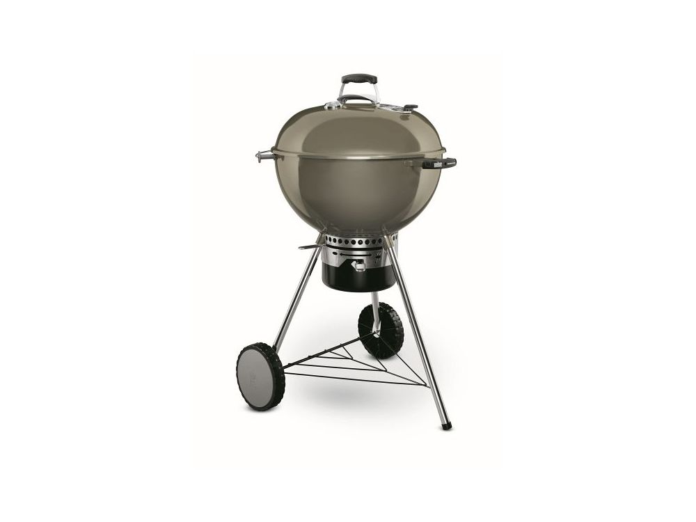 Weber Holzkohlegrill Funktion : Weber holzkohlegrill master touch gbs smoke grey kaufen