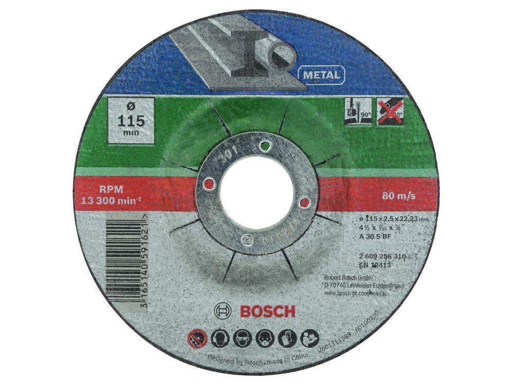 Bosch Trennscheiben Set 5 Teilig Metall 115mm Oder 125mm X 2 5m Kaufen