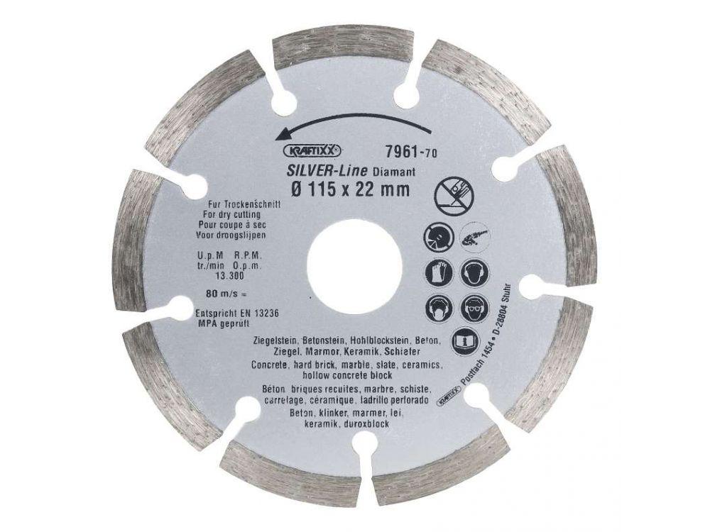 Diamant-Trennscheibe Durchmesser:115mm