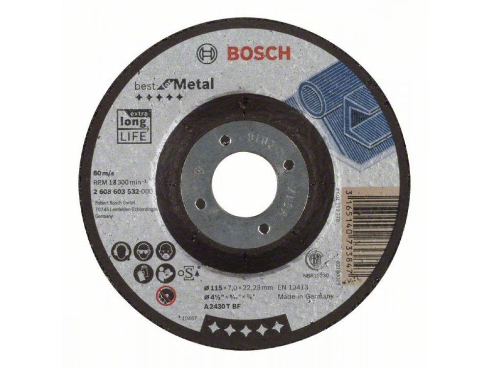 Bosch Schruppscheibe Gekropft Best For Metal Kaufen