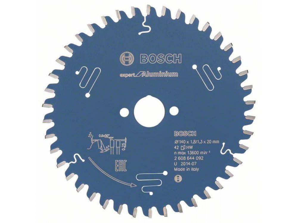 Kreissägeblatt Expert for Aluminium Durchmesser:165mm Bohrung:30mm Anzahl Zähne:56
