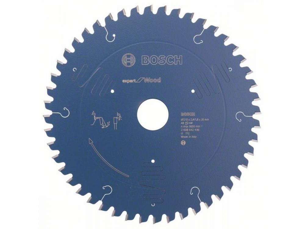 Kreissägeblatt Expert for Wood Durchmesser:130mm Bohrung:20mm Anzahl Zähne:16 Schnittbreite:2,4mm