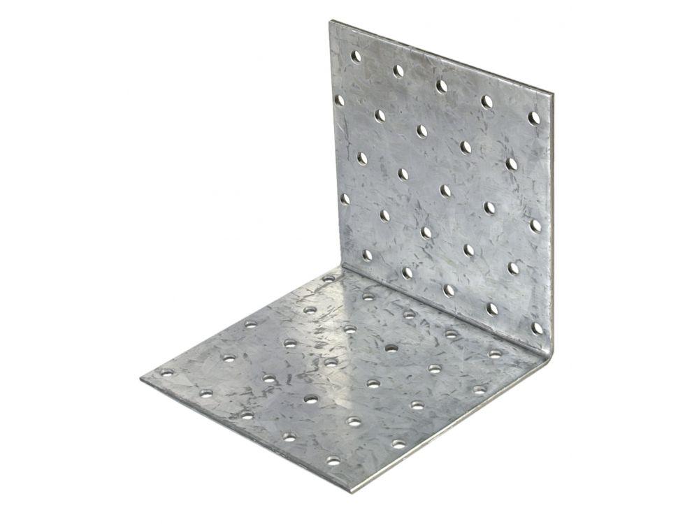 HV Lochplattenwinkel Ausführung:100x100x80mm Menge:1 Stück