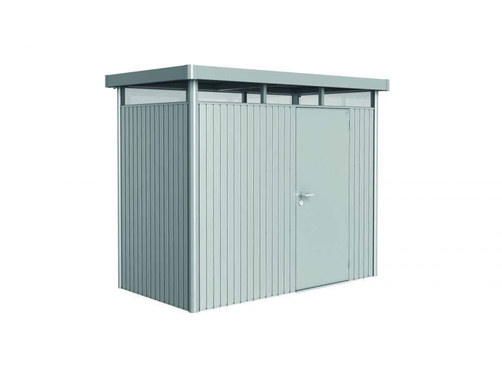Biohort Gerätehaus Highline Größe:H5 Ausführung:Doppeltür Farbe:dunkelgrau-metallic