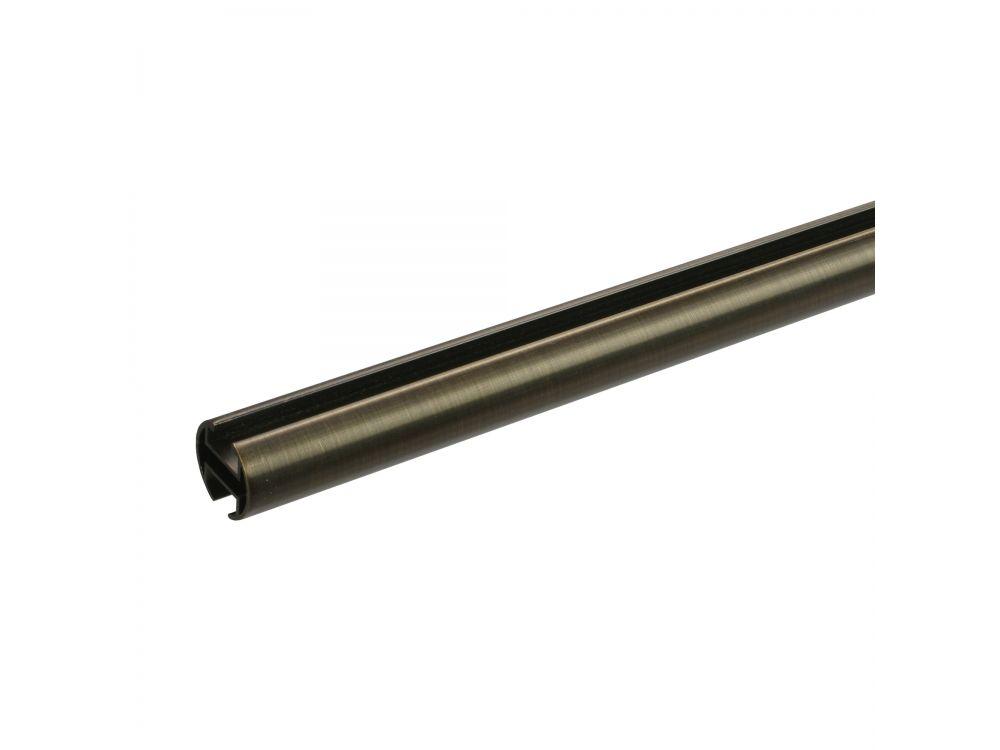 Innenlaufprofil 20 mm bronze Länge:120 cm