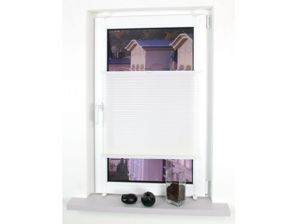 liedeco klemmfix plissee verspannt kaufen. Black Bedroom Furniture Sets. Home Design Ideas