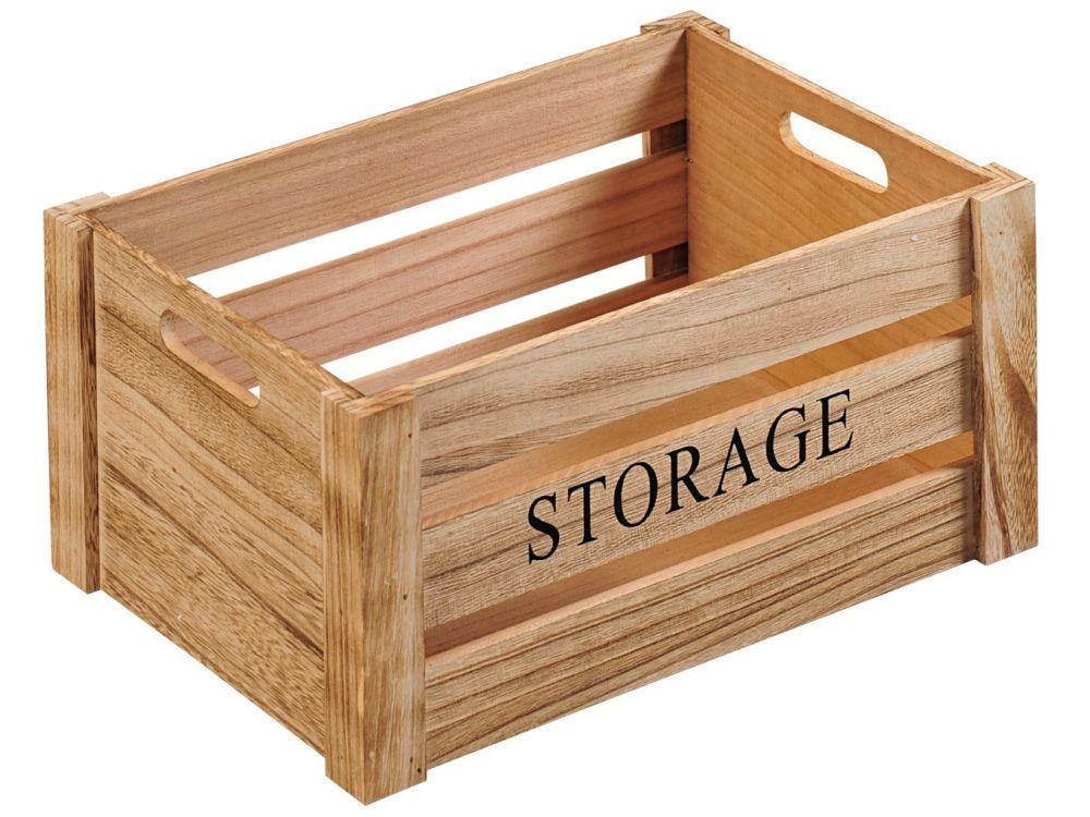 Aufbewahrungsbox Natur Storage 40 X 30 X 20cm Kaufen