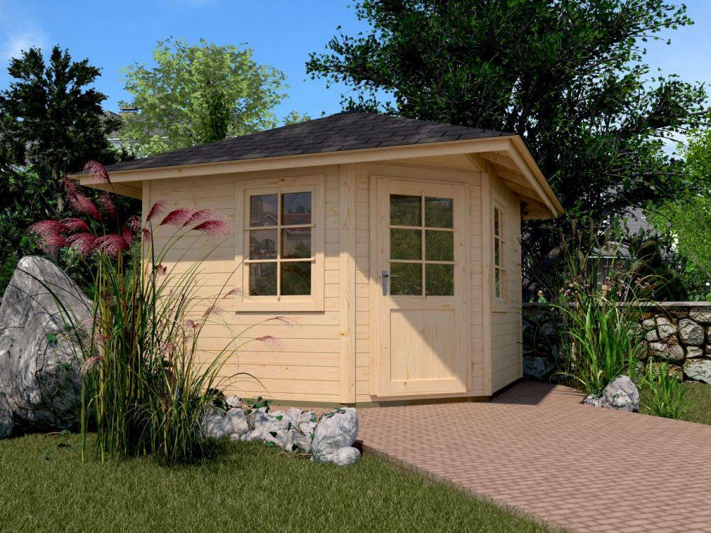Restposten Gartenhaus Karibu With Restposten Gartenhaus Perfect