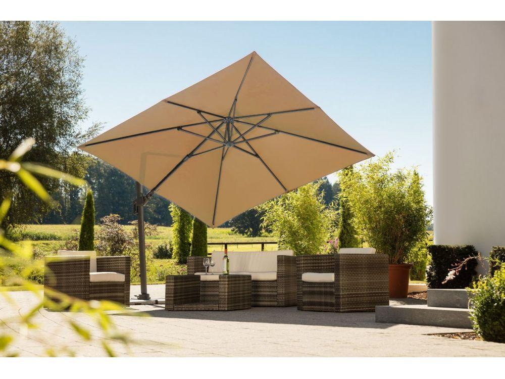 ampelschirm rhodos twist 300x300 8 kaufen. Black Bedroom Furniture Sets. Home Design Ideas