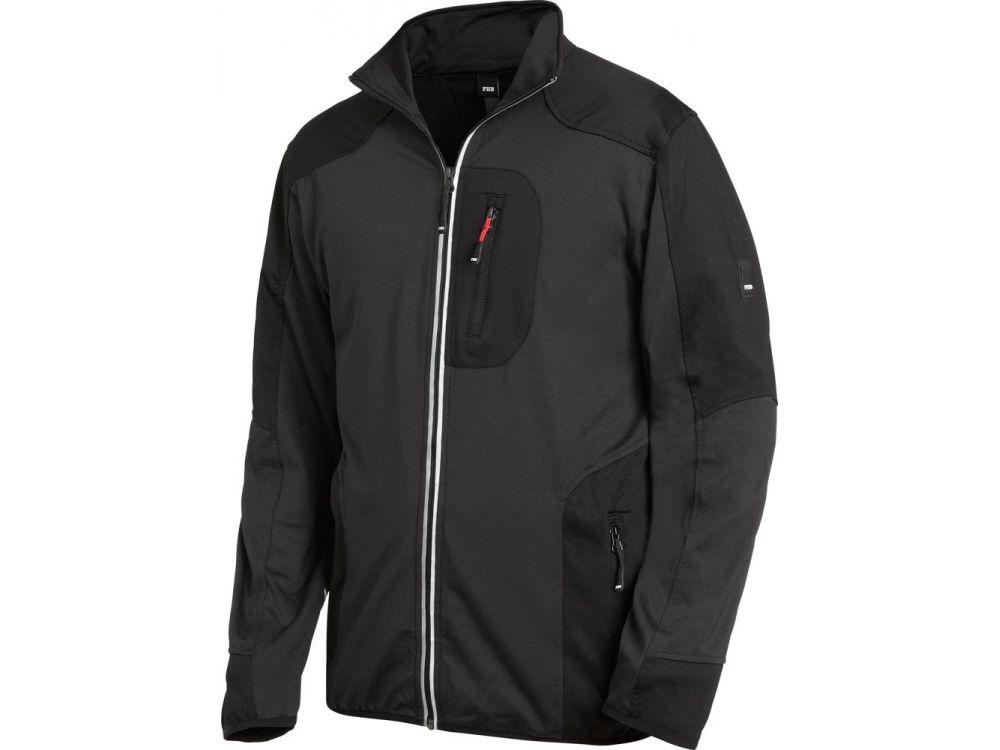 Bekleidung & Schutzausrüstung FHB Jersey-Fleece-Jacke RALF anthrazit-schwarz Gr.2XL Funsport